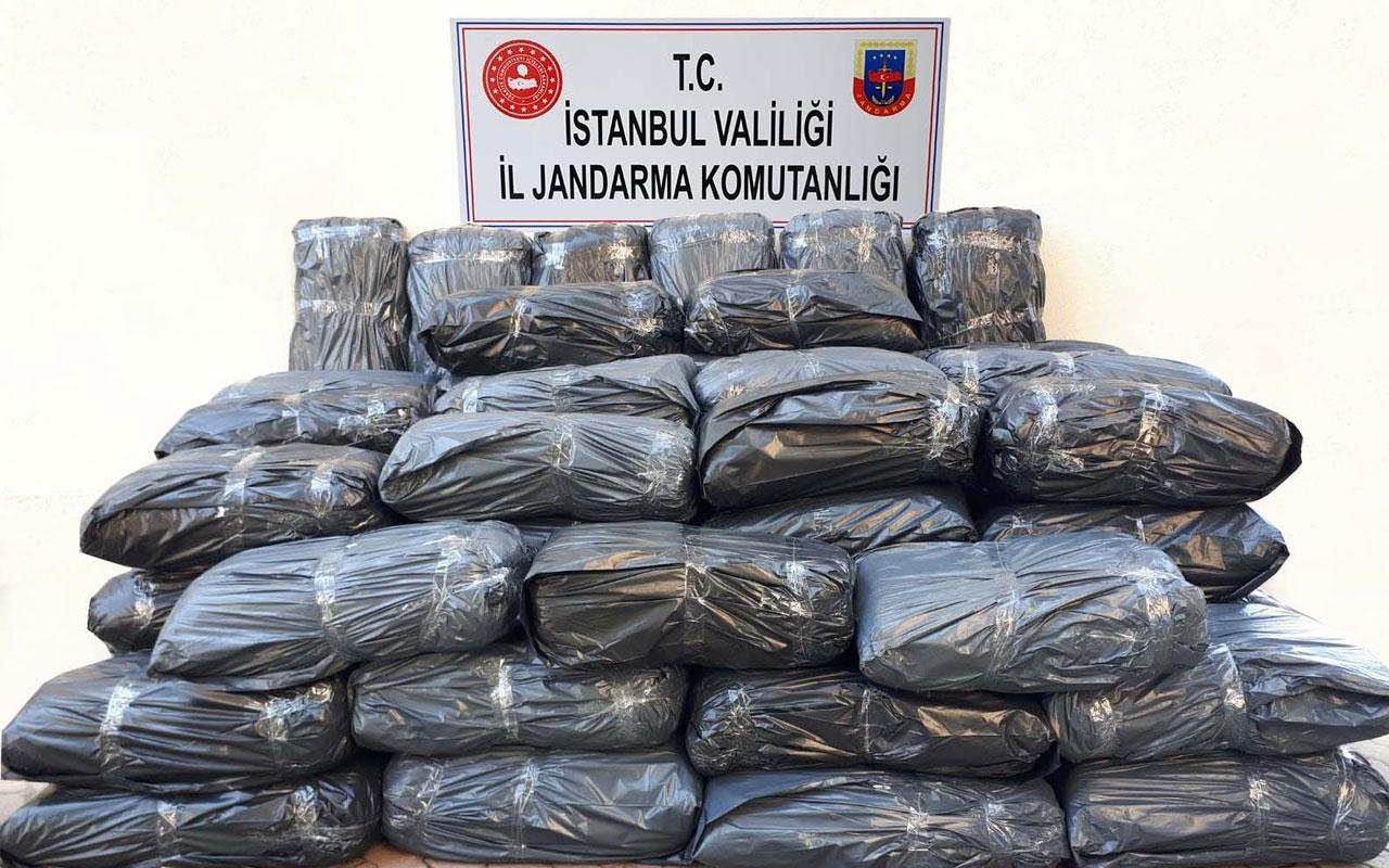 İstanbul'da büyük operasyon 650 kilo uyuşturucu ele geçirildi
