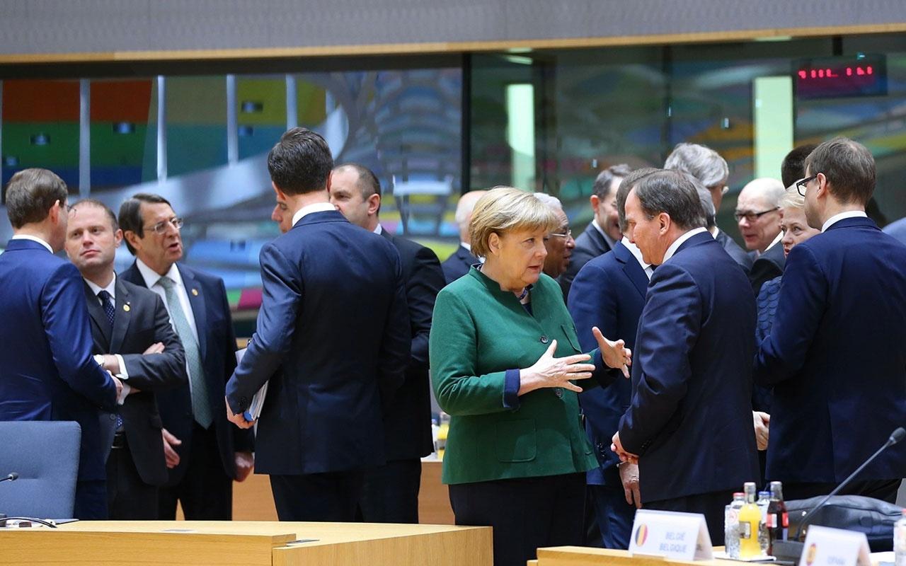 AB liderler zirvesinde gündem Türkiye'nin Doğu Akdeniz kararlığı