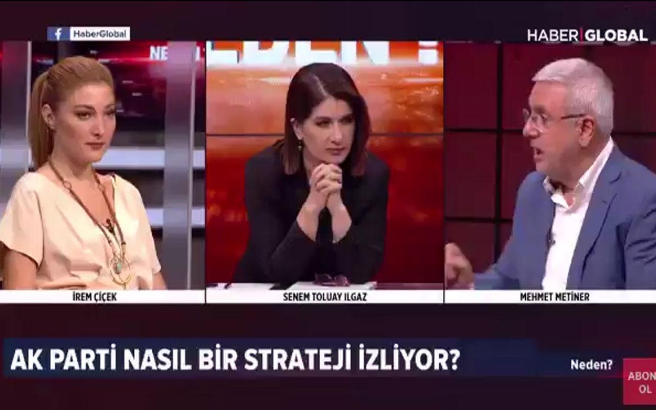 Mehmet Metiner canlı yayında İmamoğlu'na laf söylerken yanlış tweet okudu