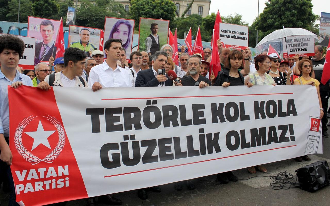 Vatan Partisi İstanbul adayından İmamoğlu'nun Demirtaş açıklamasına tepki
