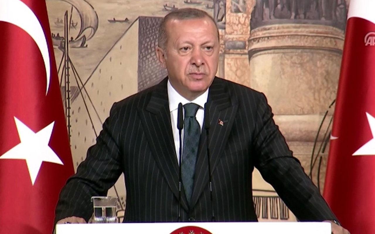 """Cumhurbaşkanı Erdoğan """"Mursi'nin ölümüne de göz yummayacağız"""""""