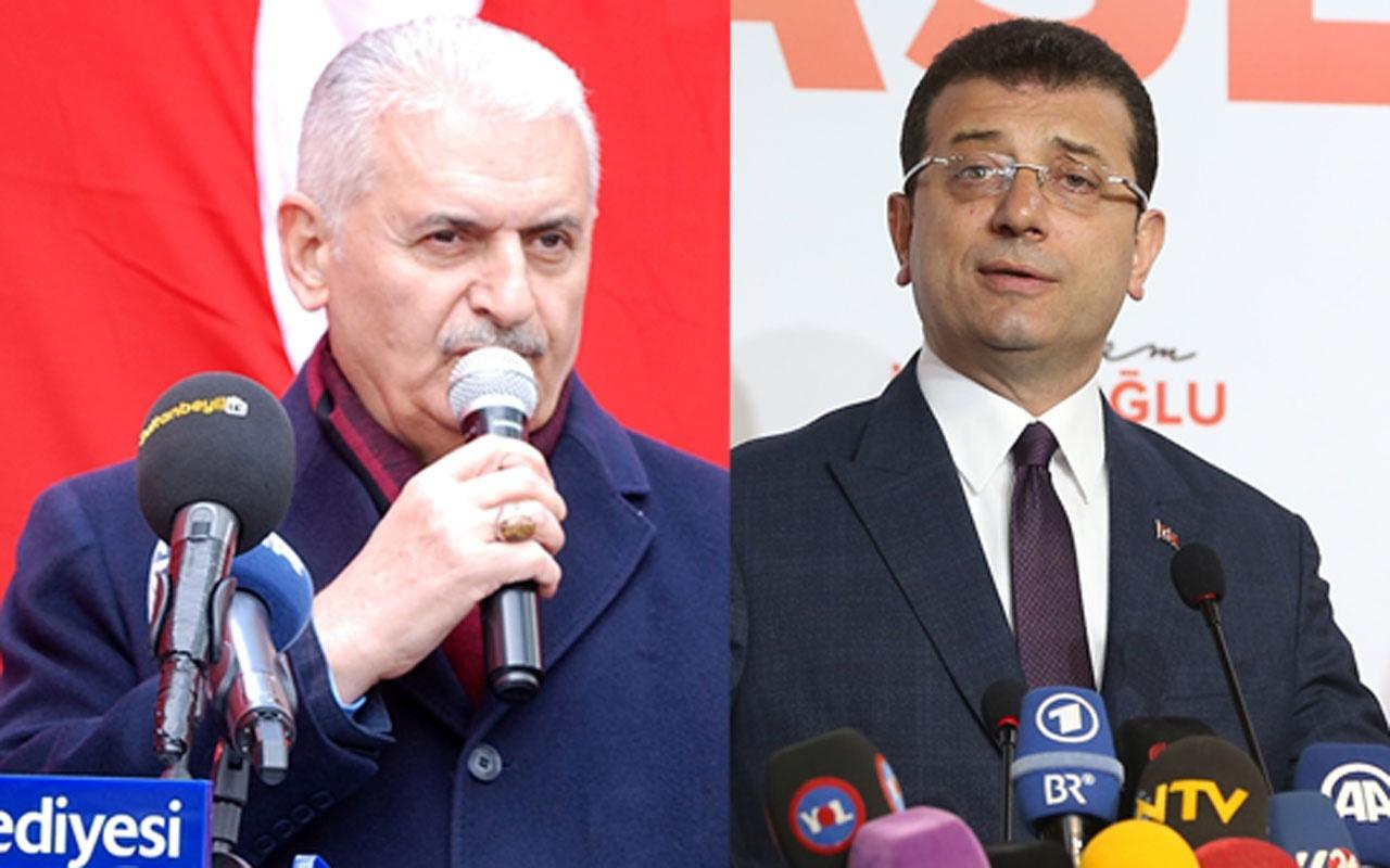 Son İstanbul seçim anketi geldi! İmamoğlu Yıldırım arasındaki fark