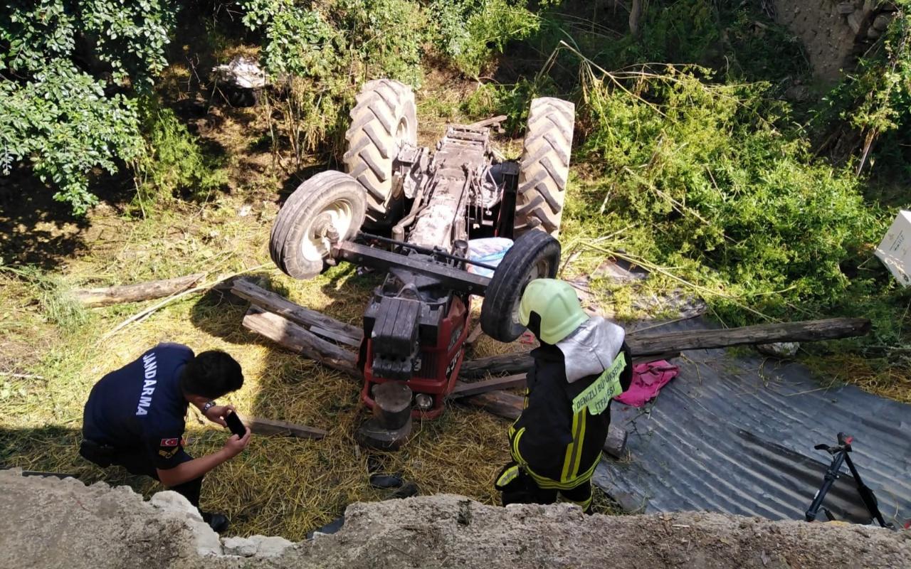 Denizli'de 4 yaşındaki çocuk traktörün altında can verdi
