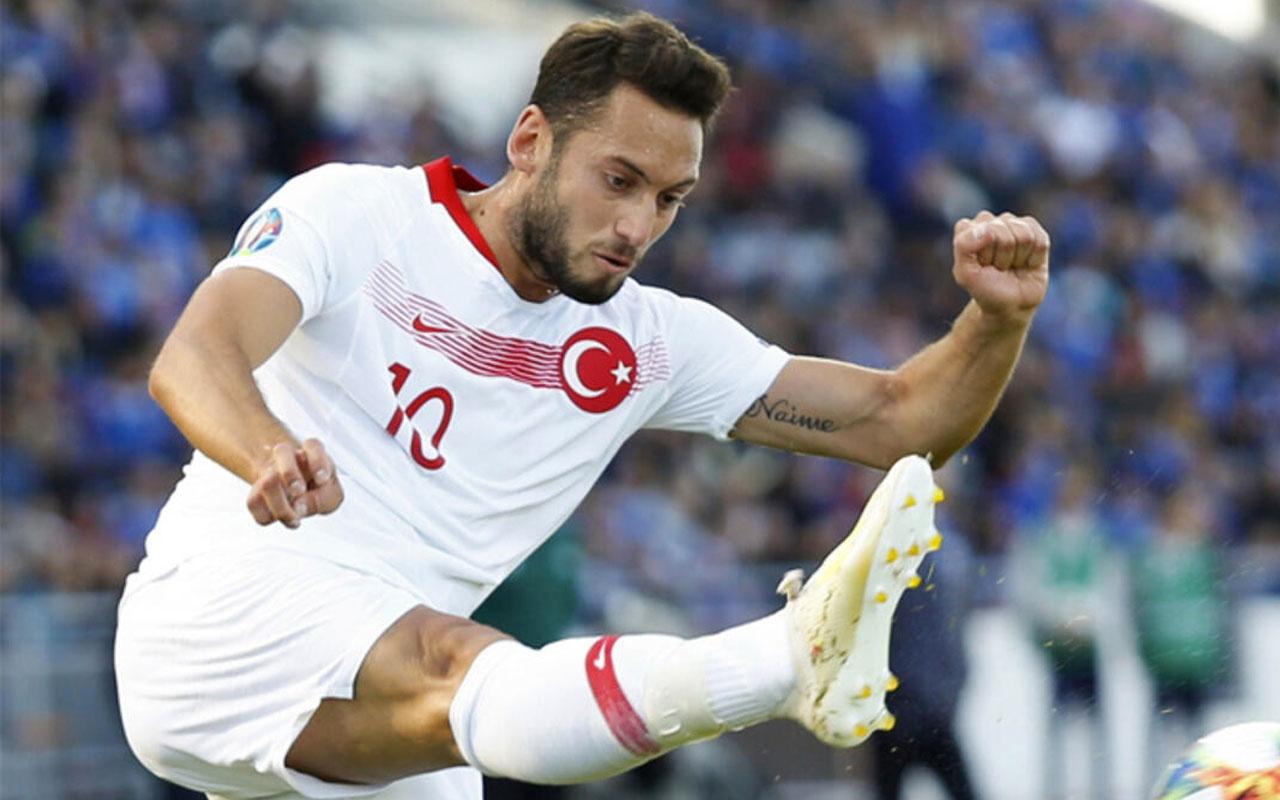 Hakan Çalhanoğlu'nun kalemi kırıldı