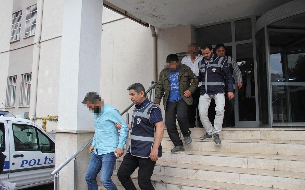 Kayseri'de aranan şüphelilere yönelik operasyon! 52 gözaltı var
