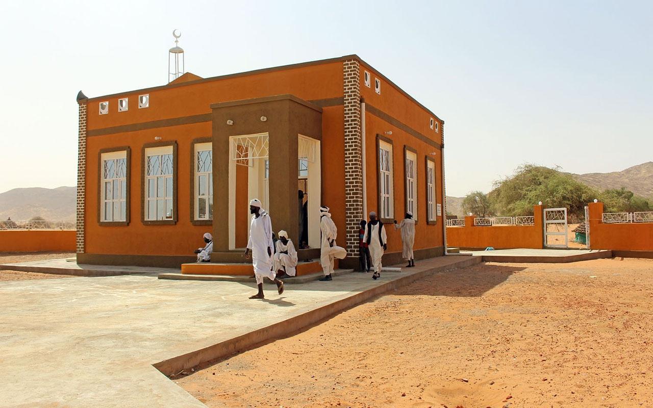 Türkiye'den Sudan'a 5 yeni cami toplam 16 oldu