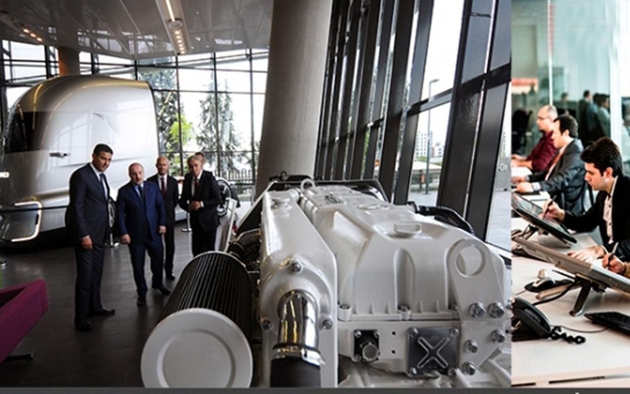 Bakan Mustafa Varank'tan Ford Otosan Ar-Ge Merkezi'ne ziyaret