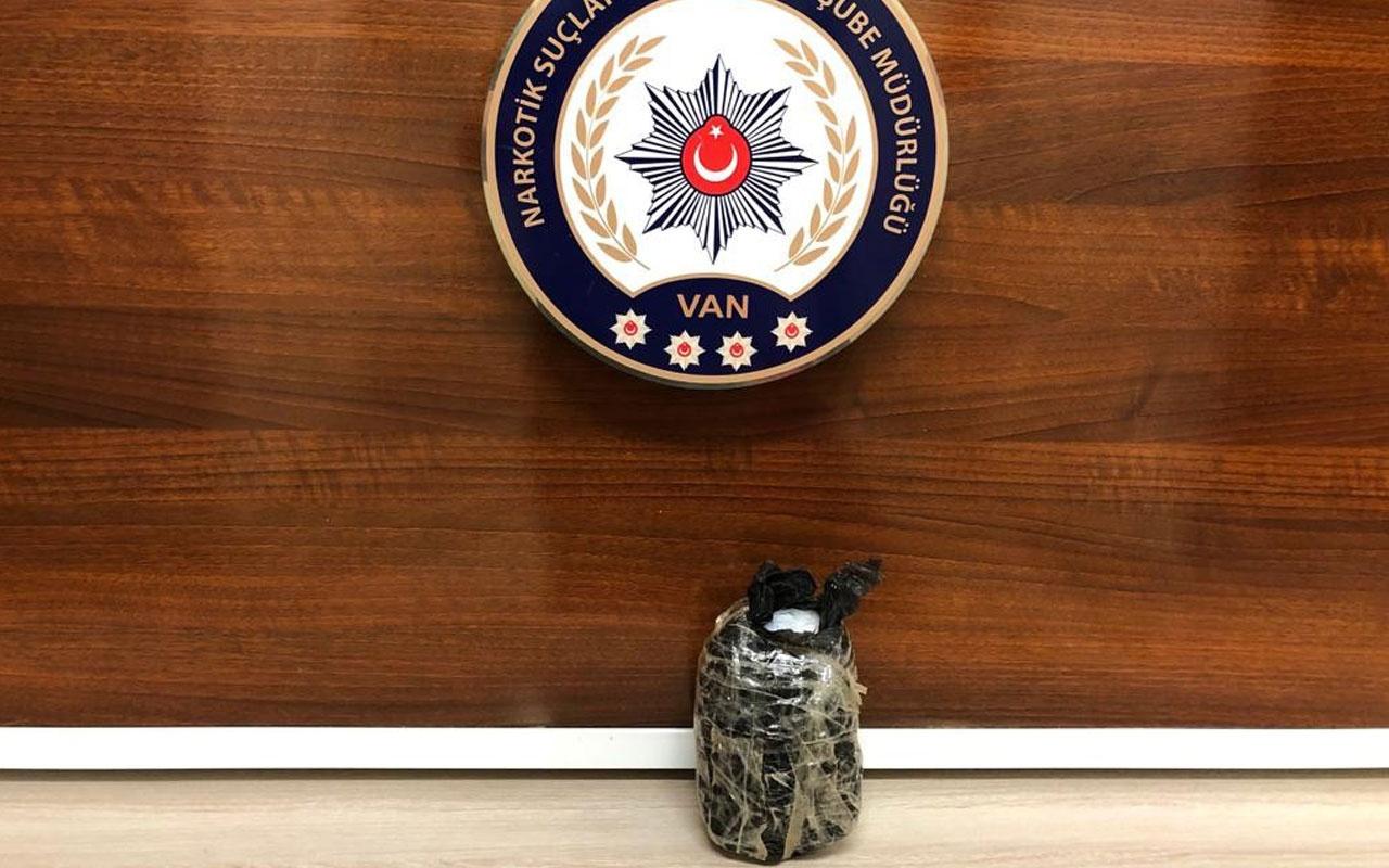 Van'da dikkat çeken uyuşturucu operasyonu Metamfetamin ele geçirildi