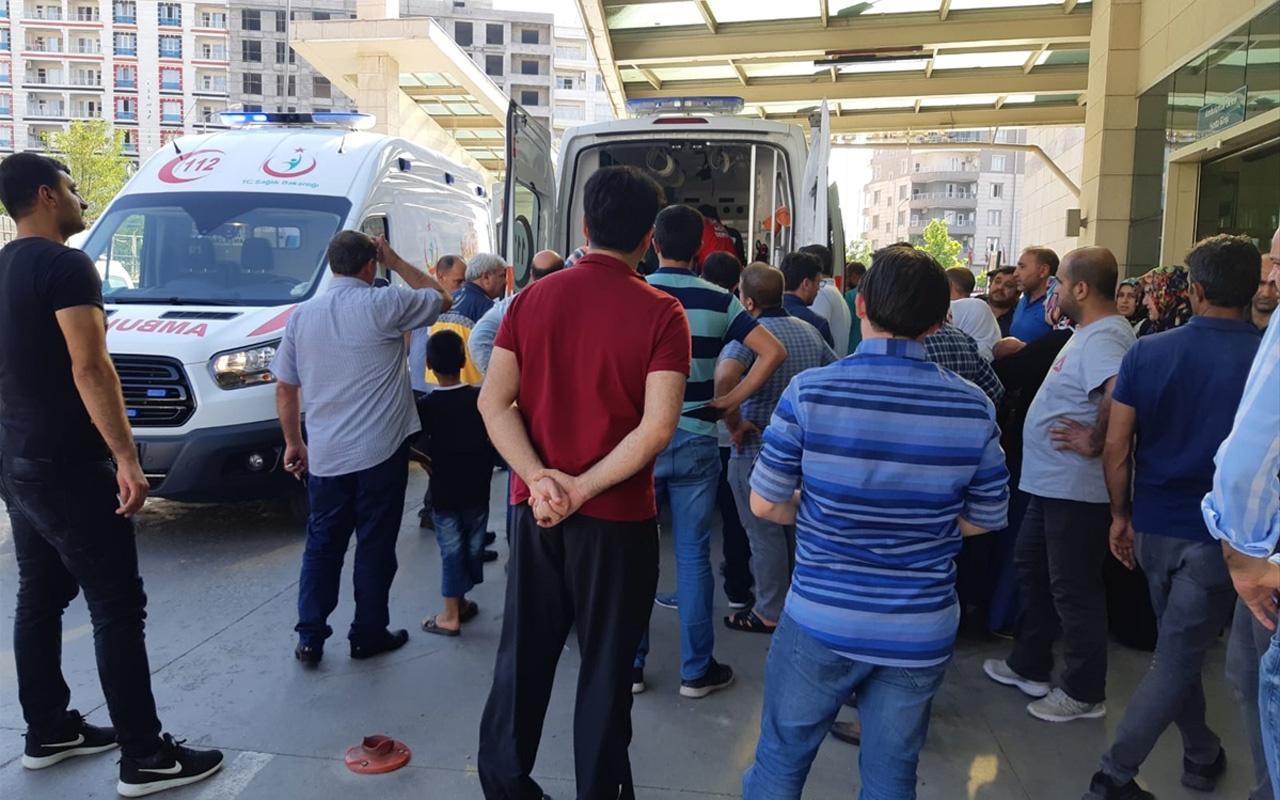 Siirt'te kafasına tuğla düşen çocuk ağır yaralandı