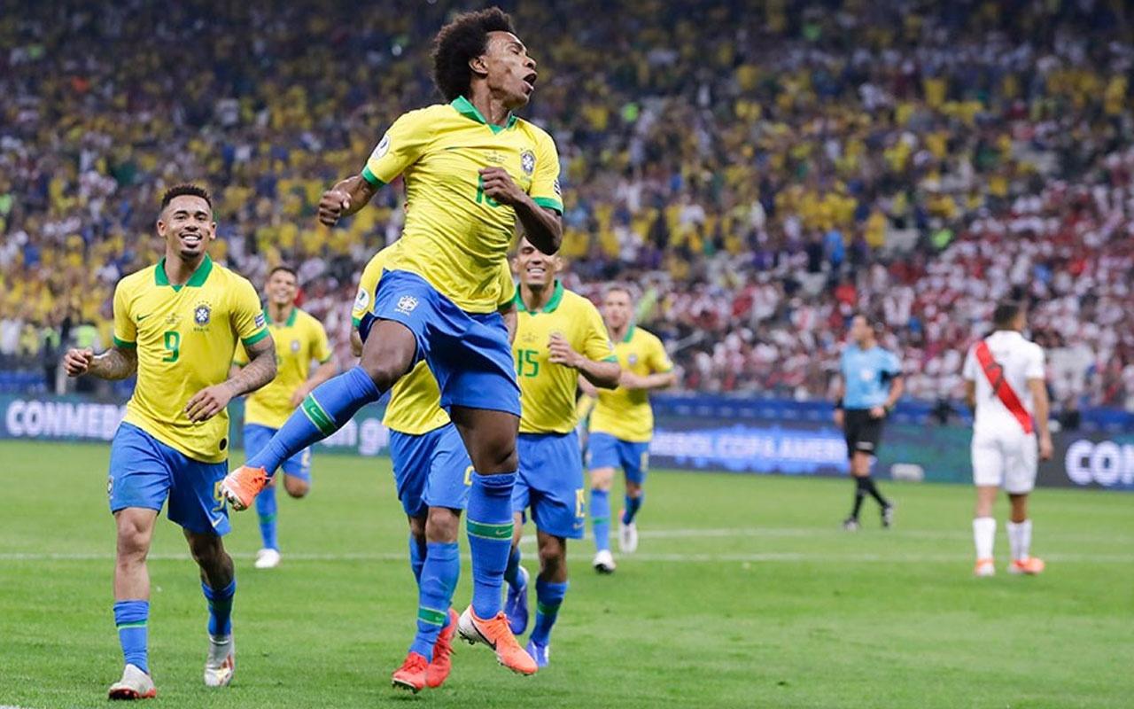 Brezilya ve Venezuela çeyrek finalde