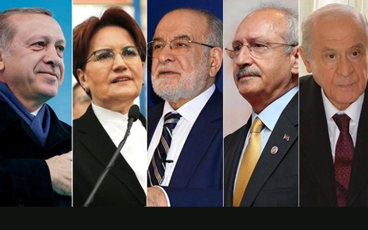 Liderler sonuçları nerede takip ediyor? Erdoğan'dan yakın markaj