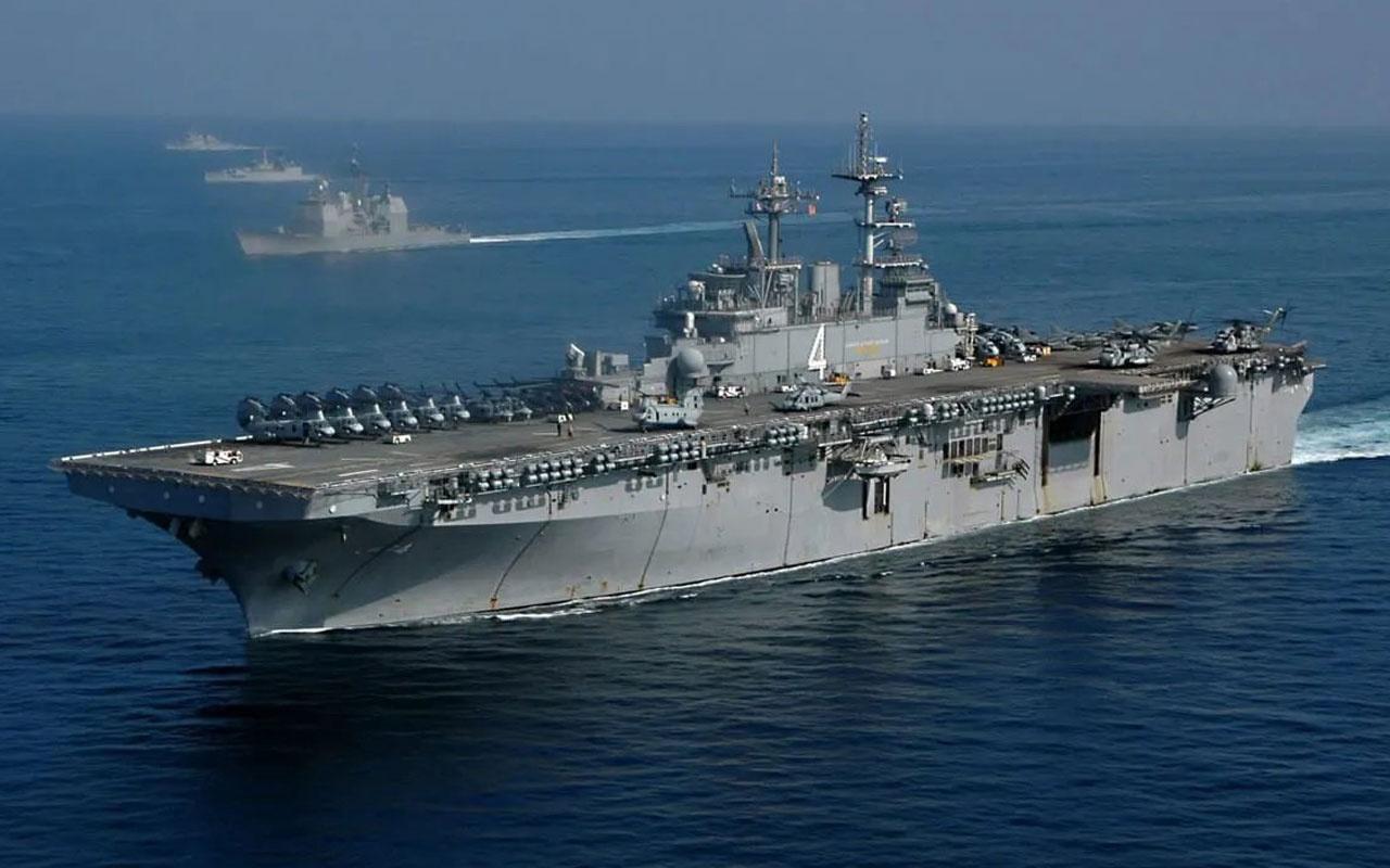 İran'a karşı ABD'nin çıkarma gemisi grubu bölgeye geldi