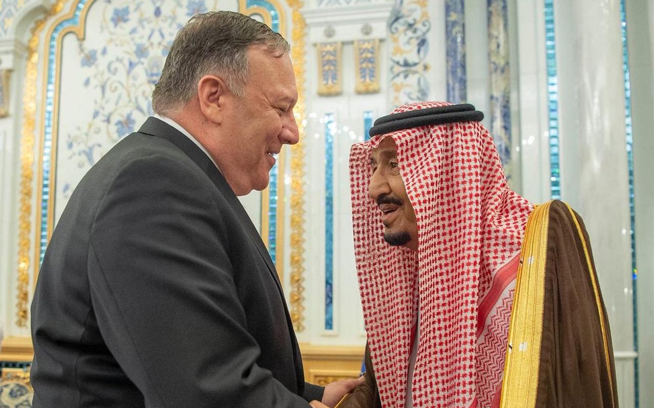 ABD Dışişleri Bakanı Pompeo, Kral Selman ile görüştü