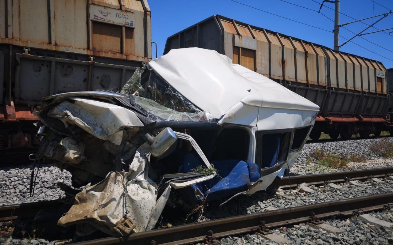 Mersin'de dehşet veren tren kazası: 1 ölü, 4 yaralı