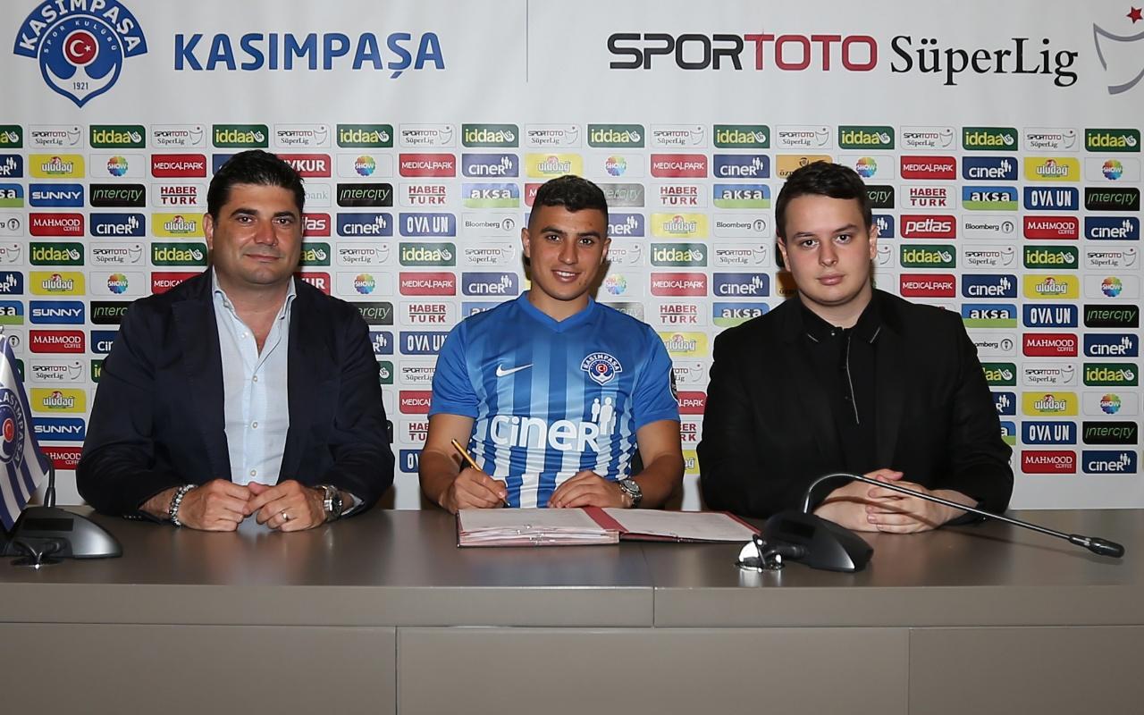 Kasımpaşa Hafez ile 1 yıllık sözleşme imzaladı