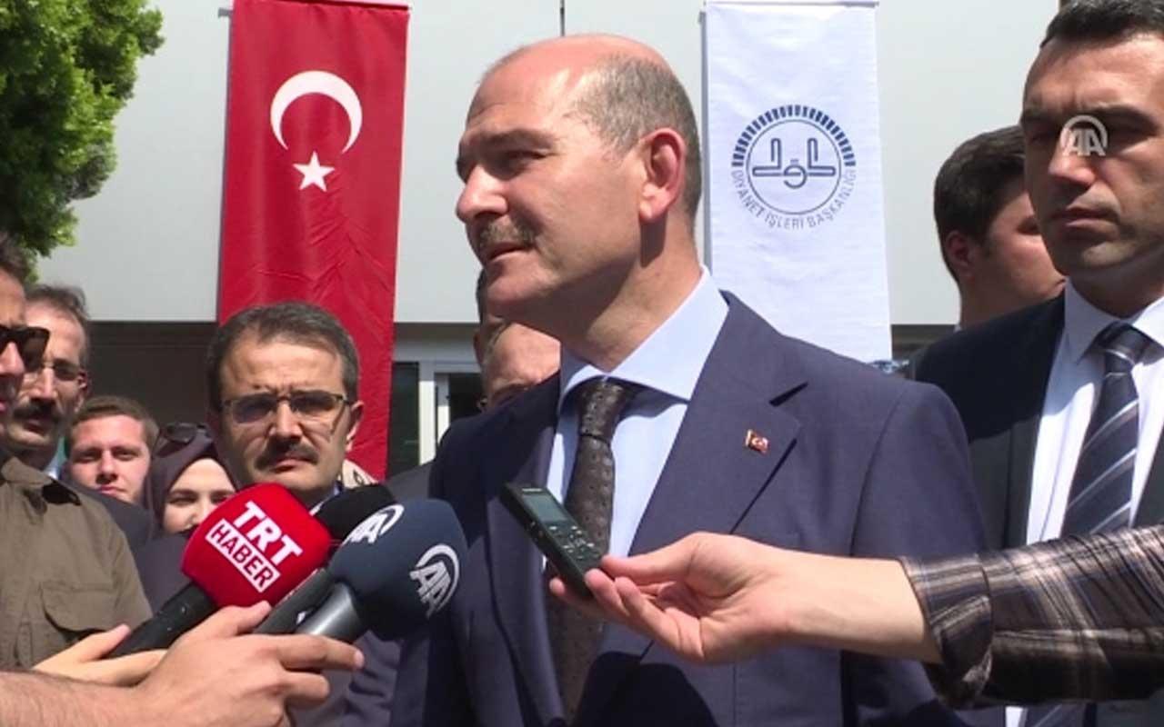 Bakan Süleyman Soylu'dan seçim değerlendirmesi