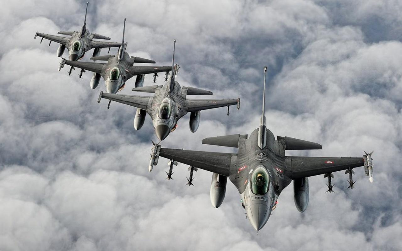 Irak'ın Kuzeyi'nde PKK hedefleri vuruldu