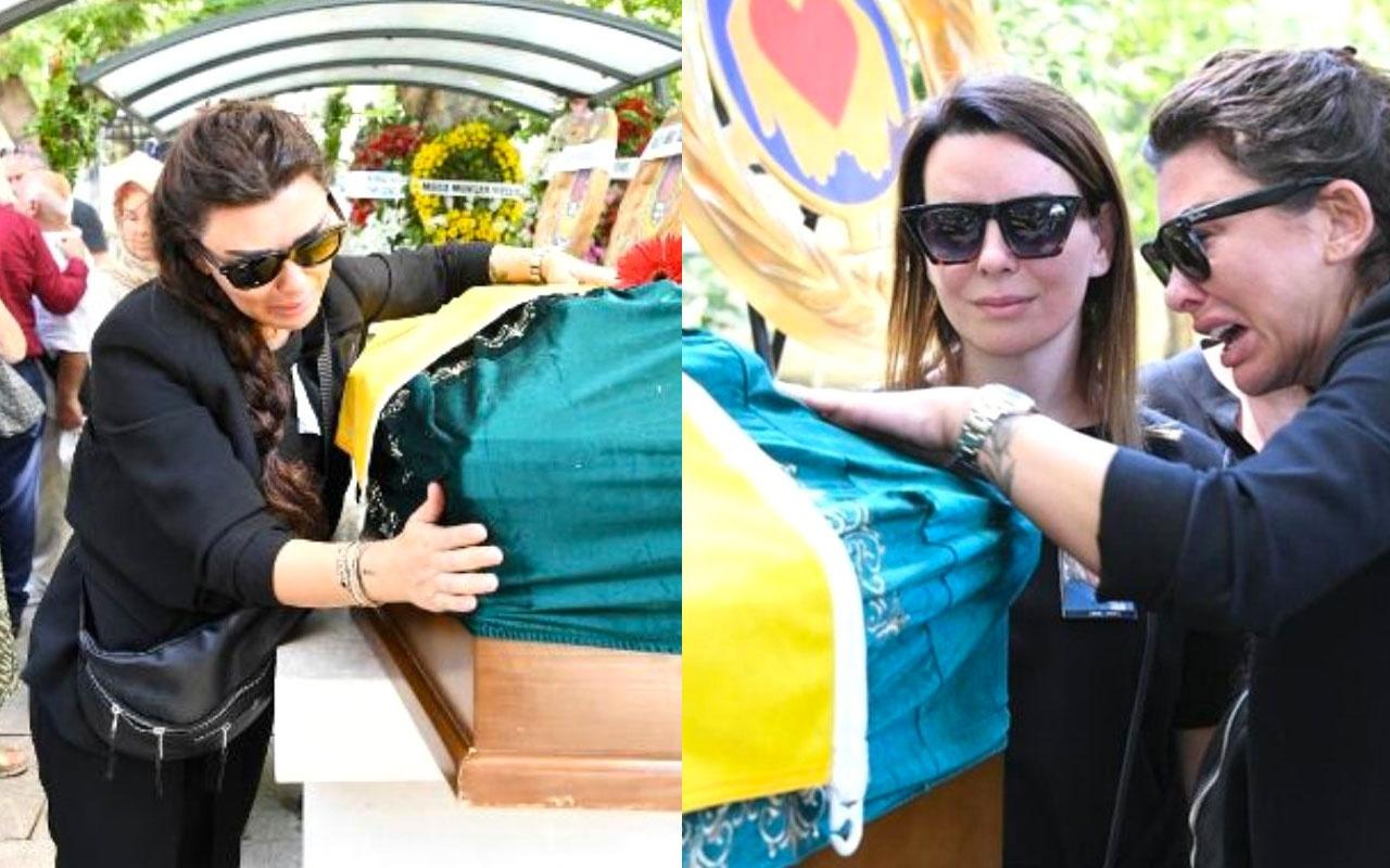Hamdi Alkan ve Selen Görgüzel'den cenazedeki skandal kare için olay açıklama