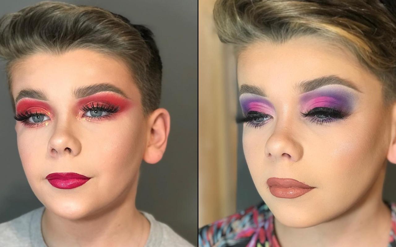 Makyaj yapan erkek çocukların sayısı hızla artıyor! nasıl önlem alınır