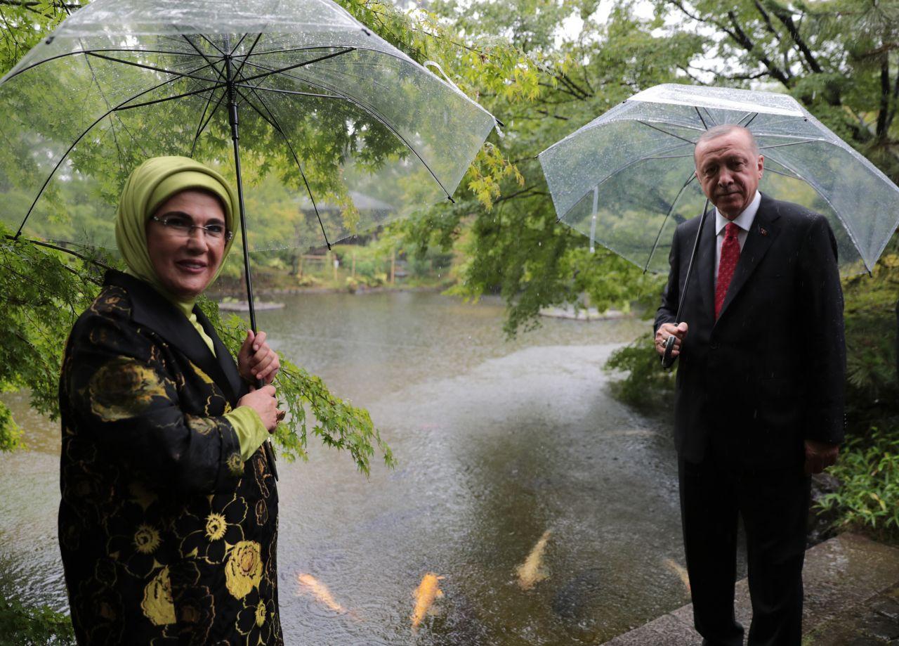 Cumhurbaşkanı Erdoğan'ın çay seremonisinde tebessüm ettiren anları - Sayfa 1
