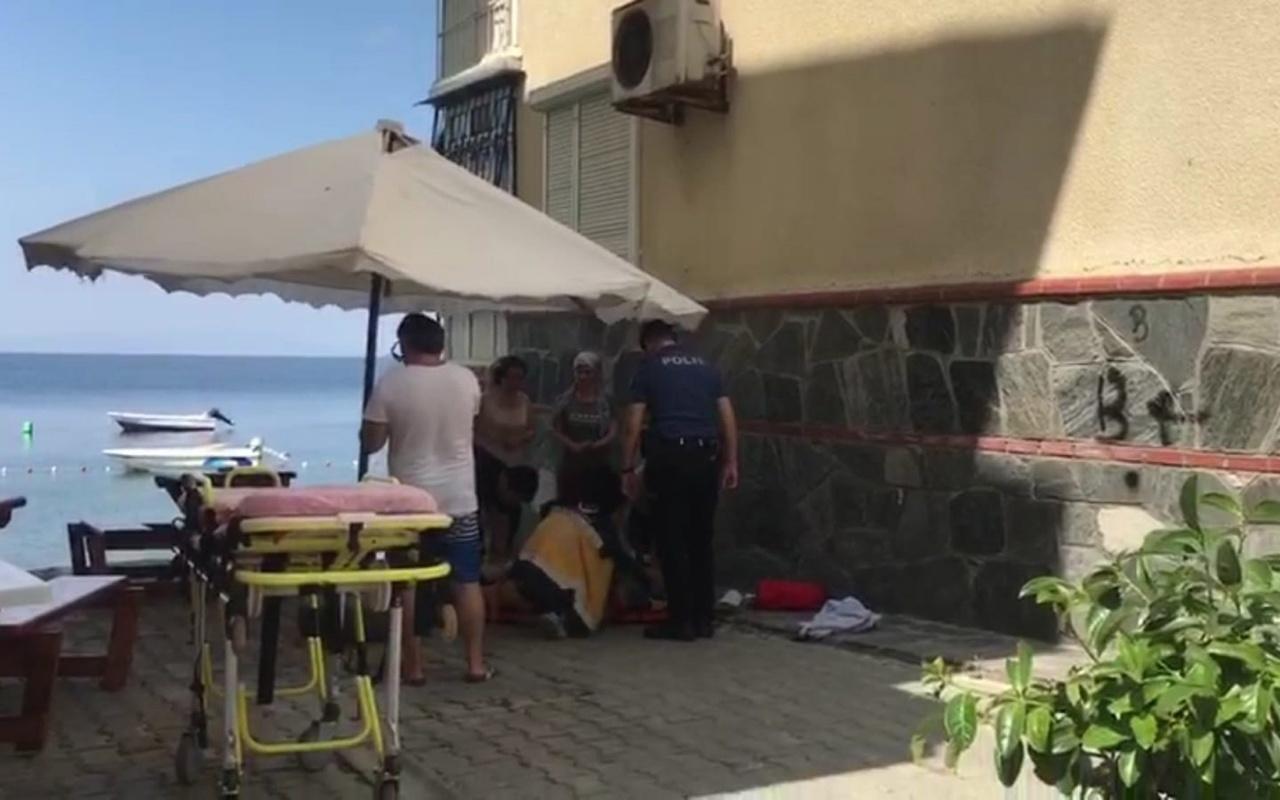 Üçüncü kattaki evin balkonundan düştü! Ağır yaralandı