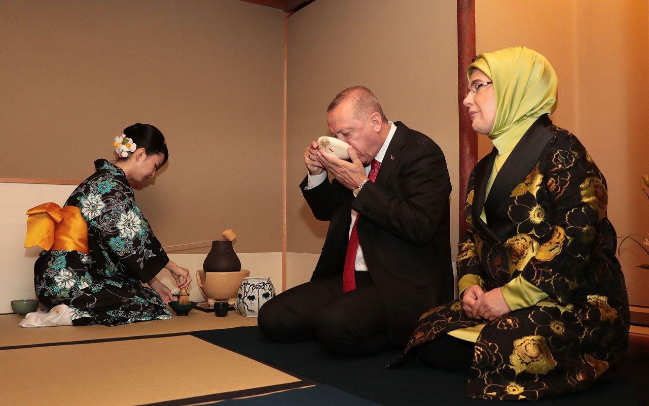 Cumhurbaşkanı Erdoğan'ın çay seremonisinde tebessüm ettiren anları - Sayfa 8