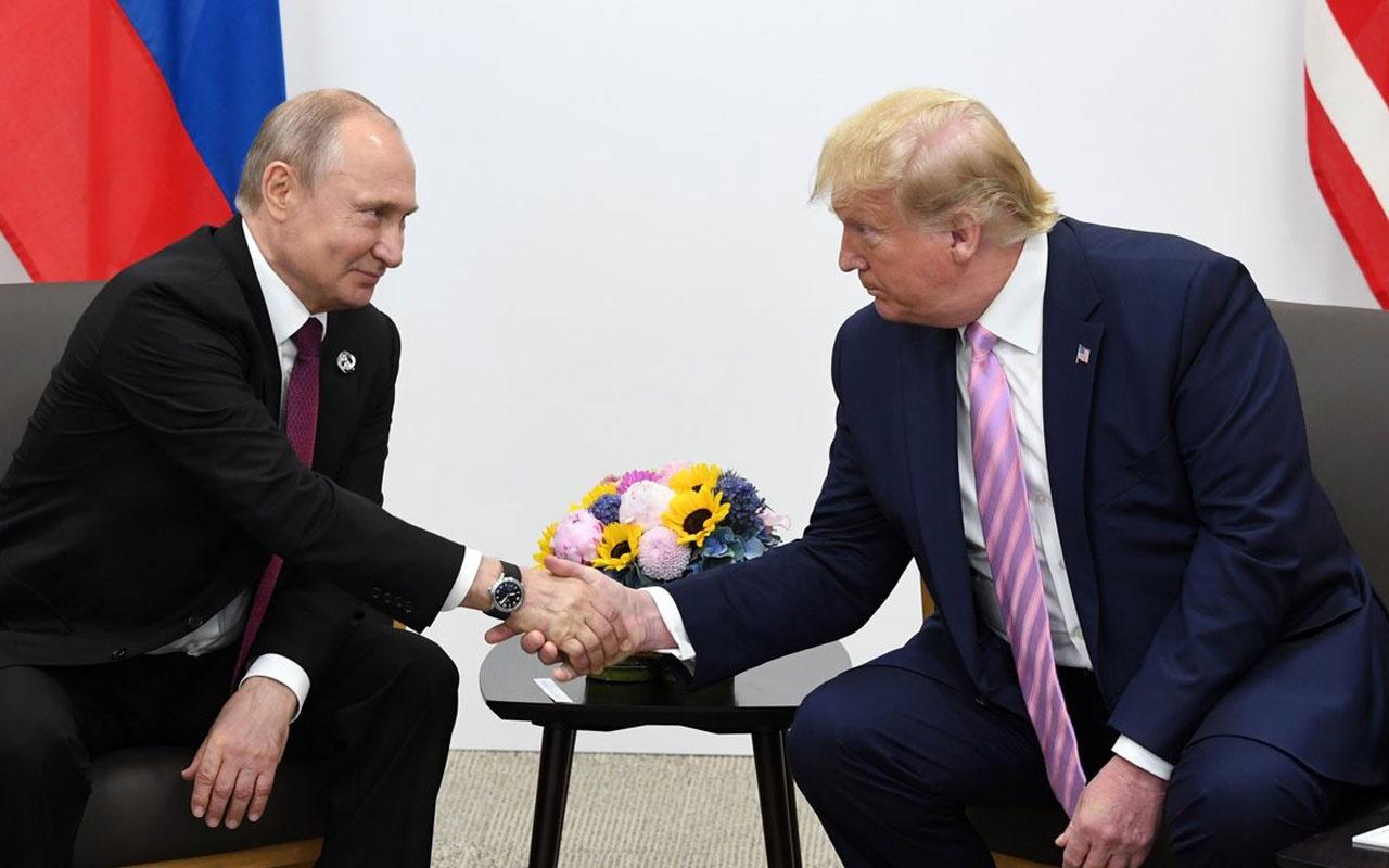 Vladimir Putin, Donald Trump ile görüştü