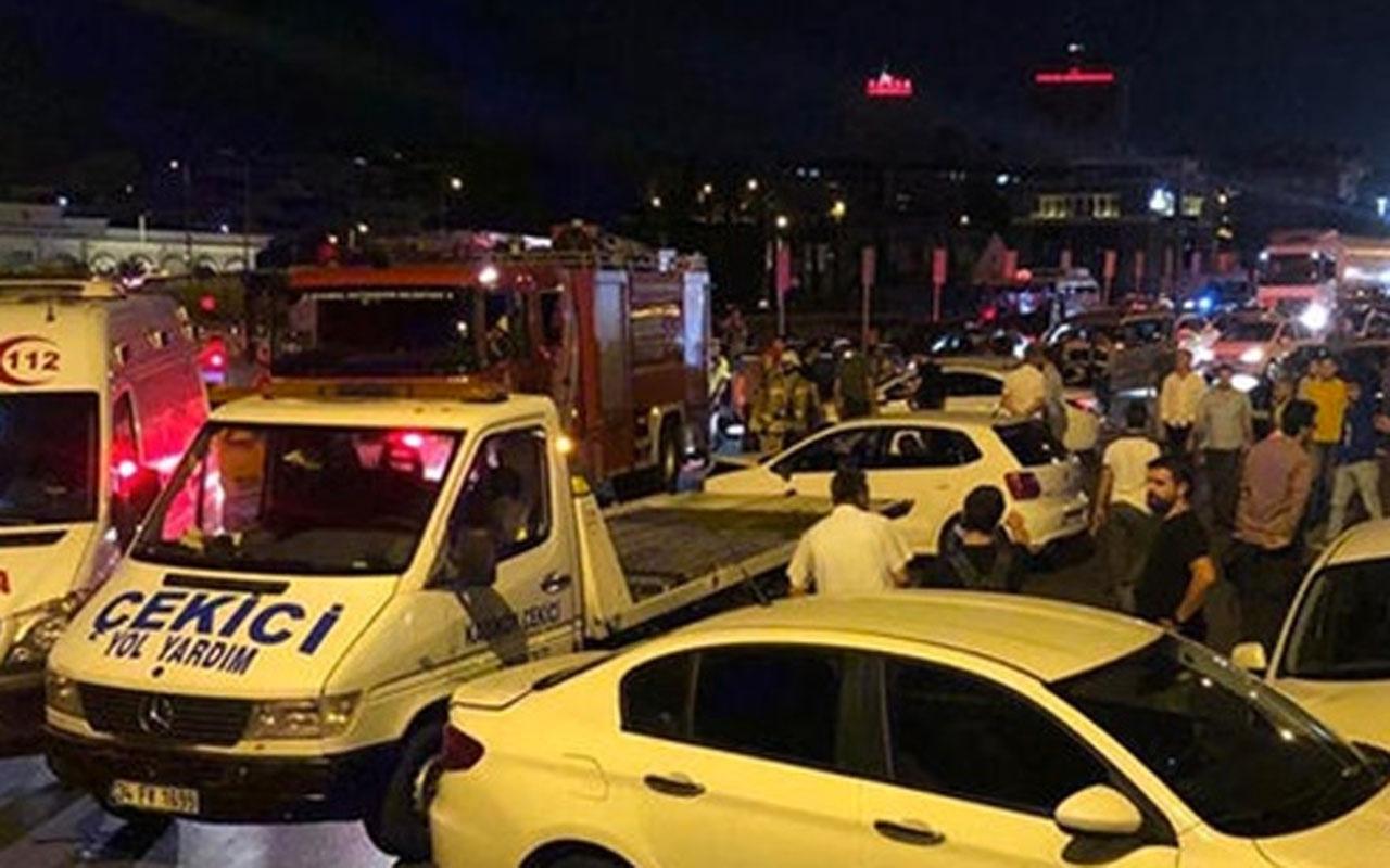 Karı-koca yarışı İstanbul'u savaş alanına çevirdi! Çok sayıda yaralı var