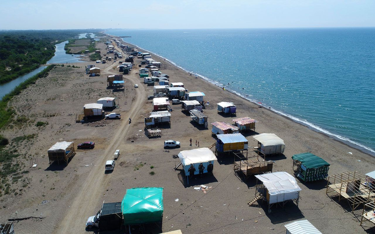 Antalya'da lüks otellerin yanında bedava tatil! Denize sıfır ve güneş enerji paneli bile var