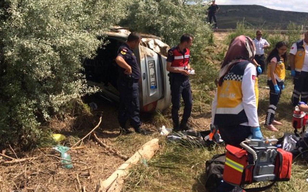 Kayseri'de dehşet veren kaza: 4 ölü 1 yaralı
