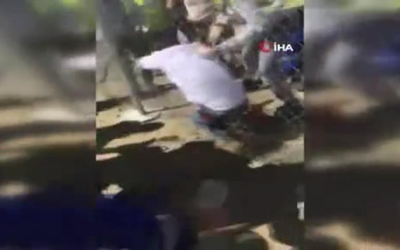 Kazakistan'da dehşete düşüren kavga
