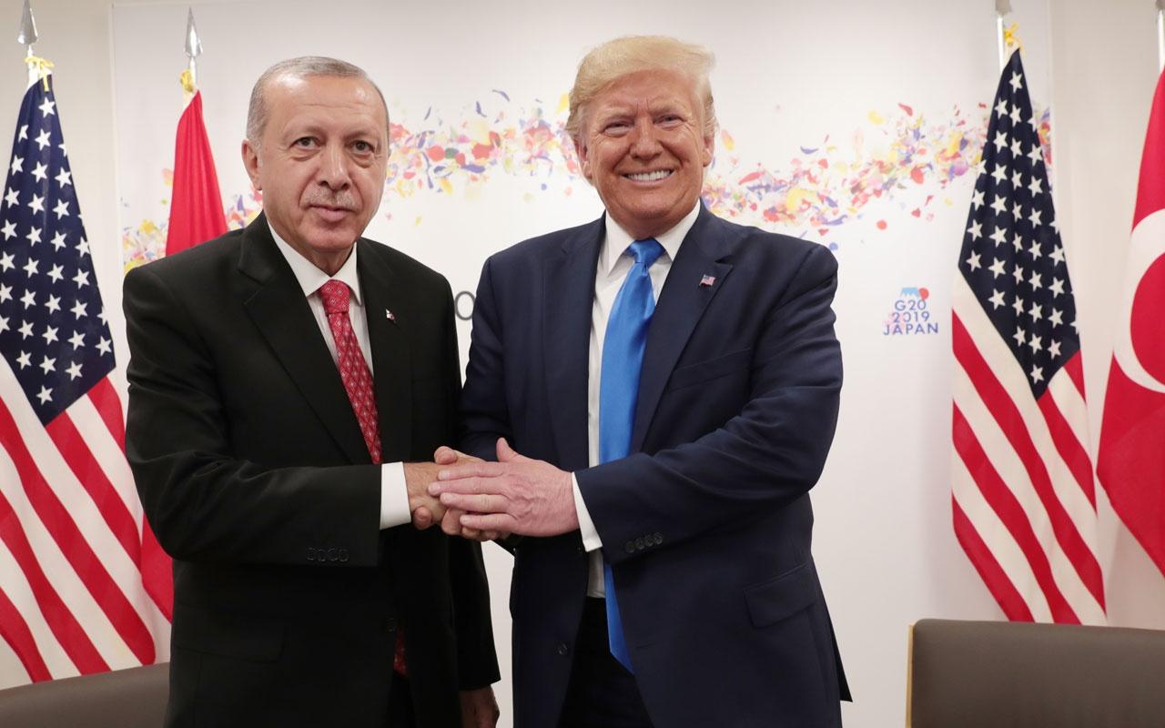 Cumhurbaşkanı Erdoğan ile görüşen Trump Türkiye'ye adil davranılmadı