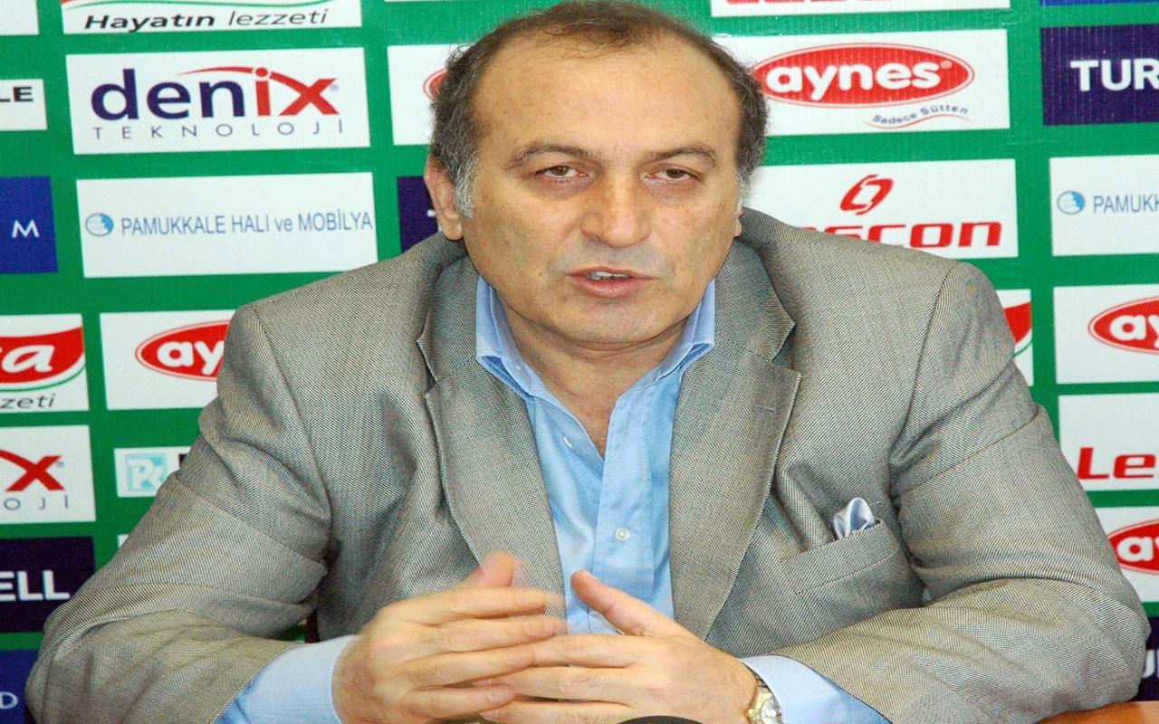 Denizlispor'u üzen haber! Eski başkan Ali İpek hayatını kaybetti