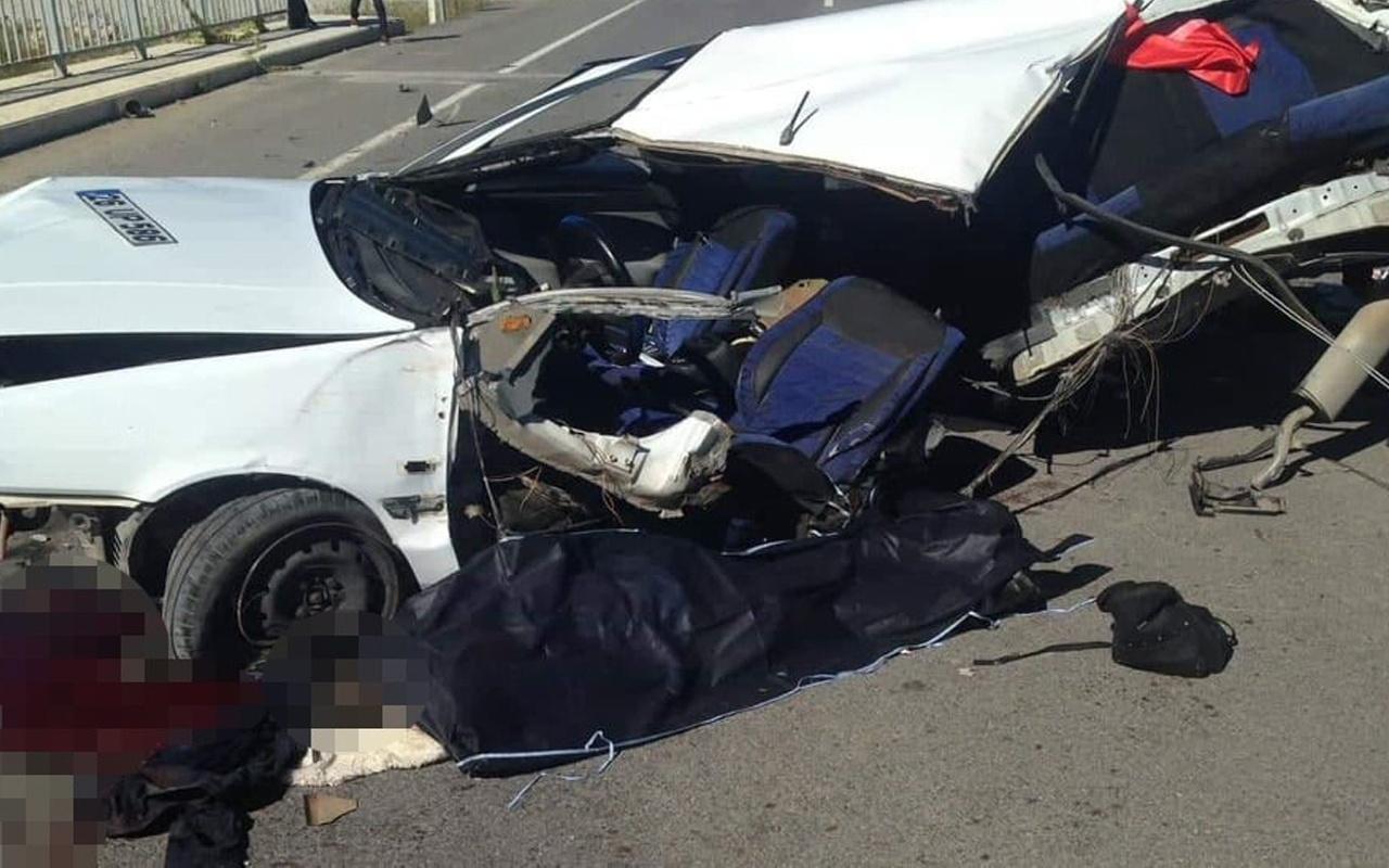 Düğün dönüşü feci trafik kazasında can pazarı yaşandı