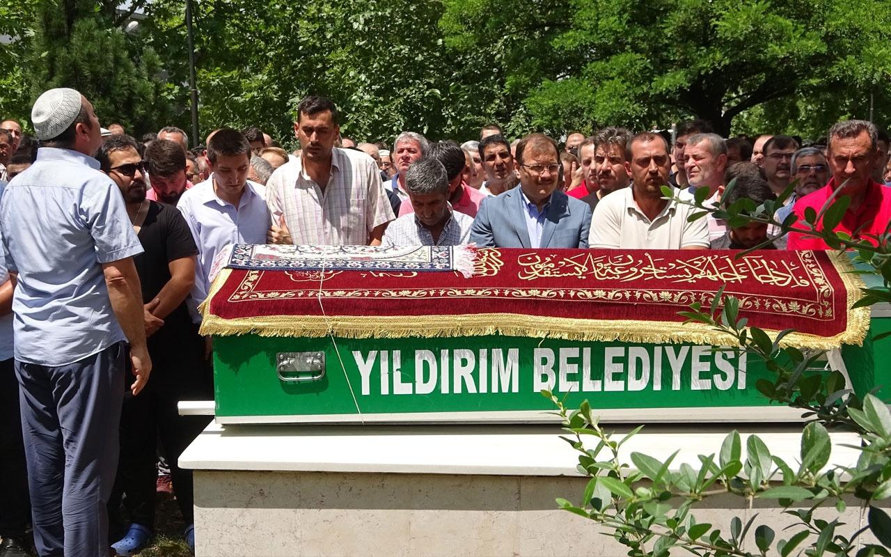 Bursa'da 6 yaşındaki Sinan'a acı veda