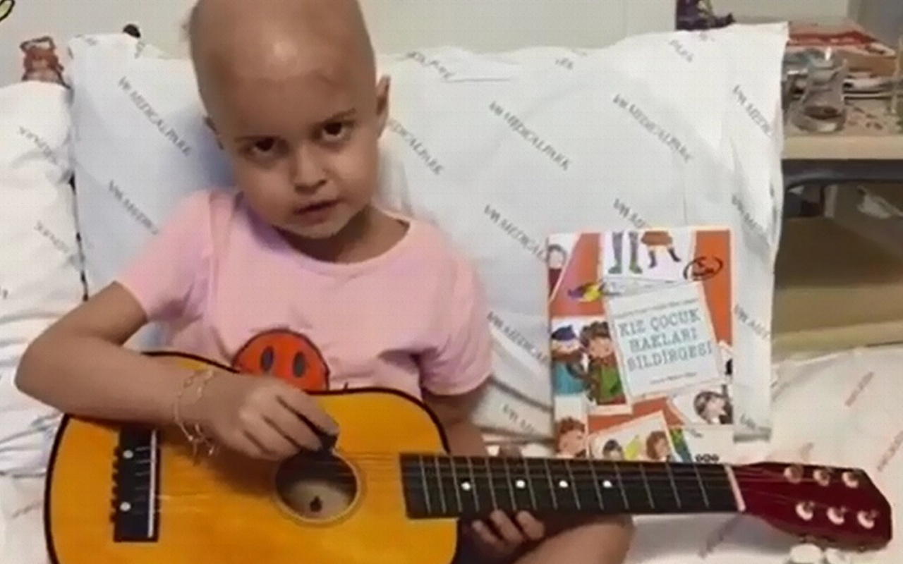 Öykü Arin'den doktorları için şarkı