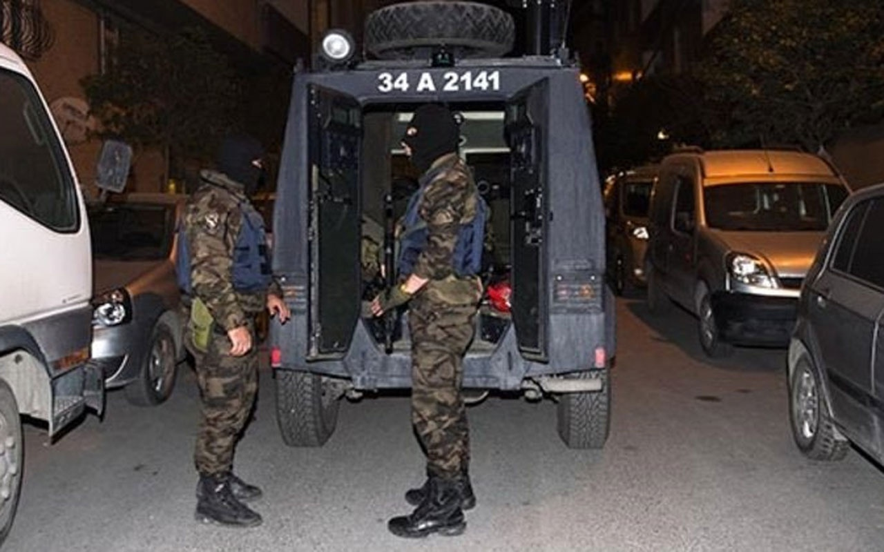 İstanbul'da bin adrese eş zamanlı operasyon