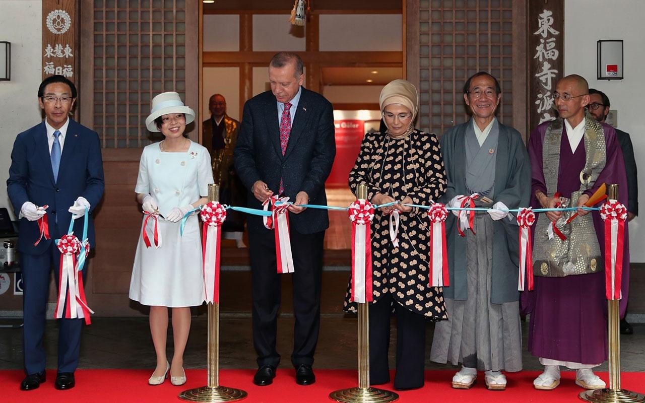 Erdoğan, Ara Güler Sergisi'nin açılışını Prenses Akiko ile yaptı!