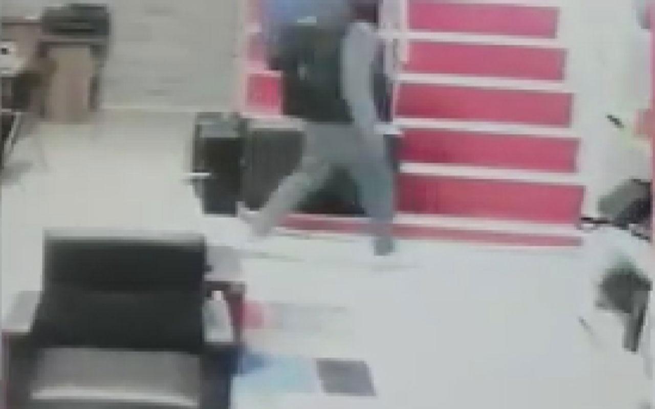 İşyerini soyan muhasebeci kameraya yakalandı!