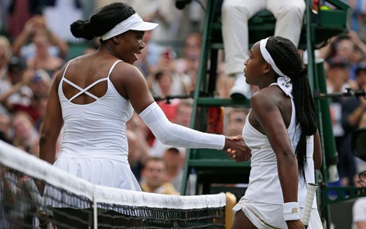 15 yaşındaki Cori Gauff Venus Williams'ı devirdi
