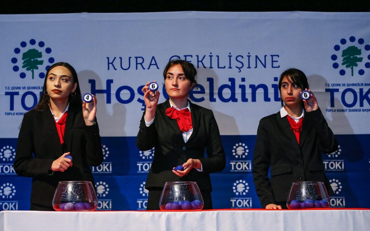 Başakşehir'deki TOKİ konutlarının hak sahipleri belirlendi