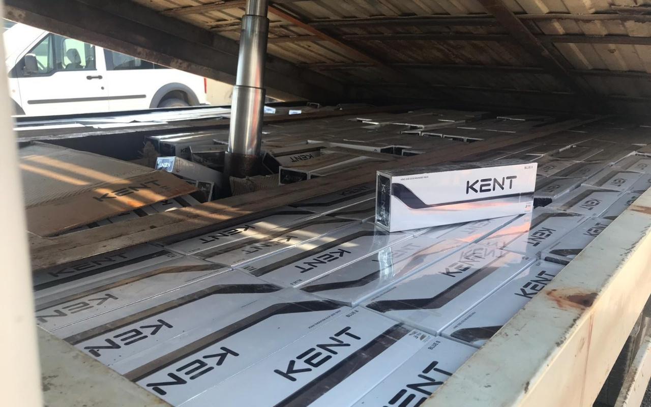 Van'da 7 bin 350 paket kaçak sigara ele geçirildi