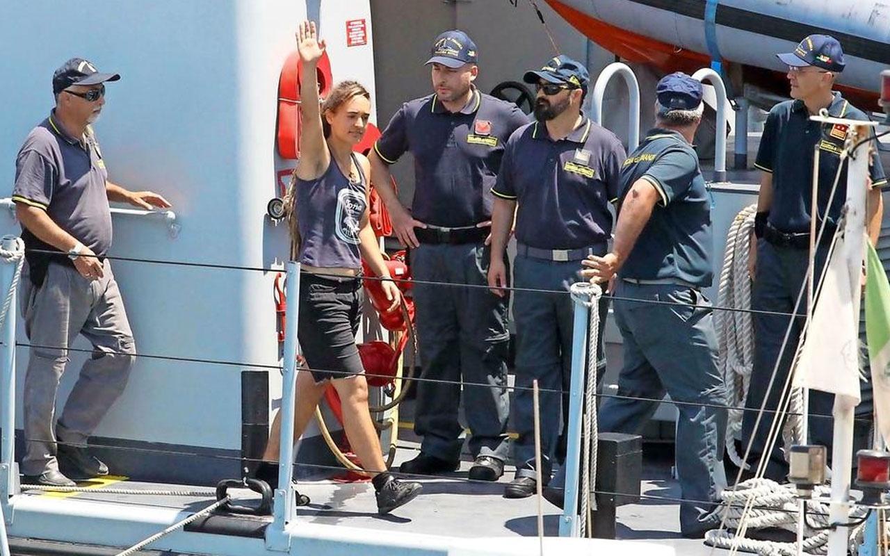 Almanya ile İtalya arasında Carola Rackete krizi