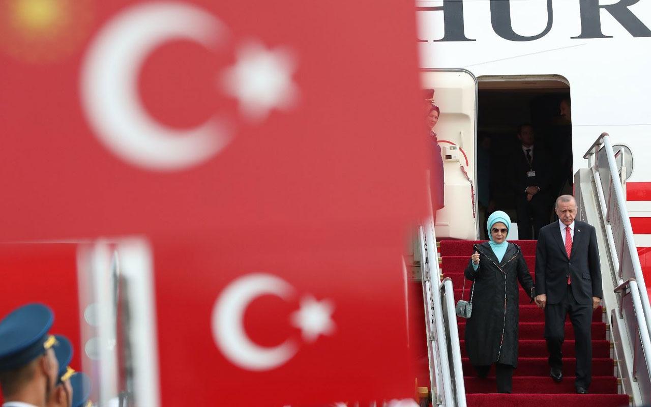Cumhurbaşkanı Recep Tayyip Erdoğan Pekin'de