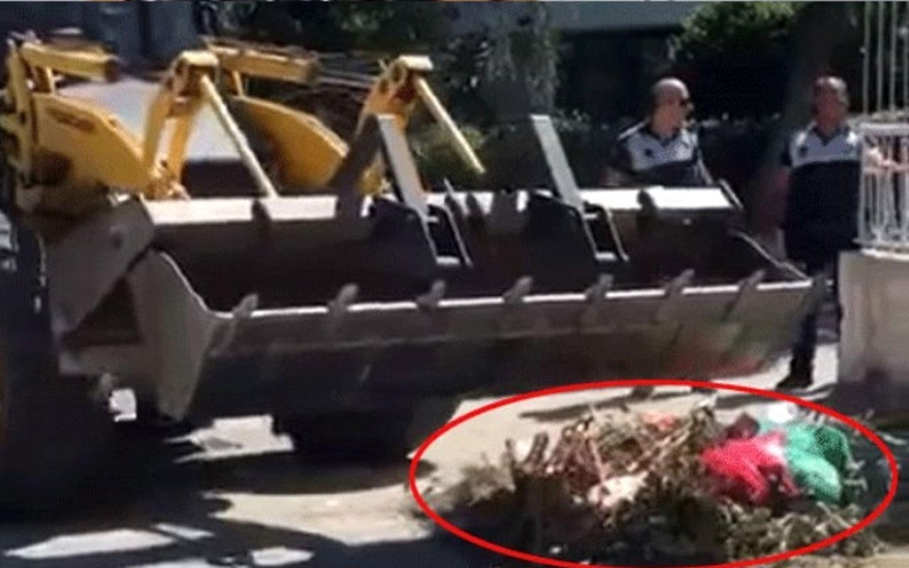 Yer Balıkesir! Belediye çöpleri sahiplerine aynen iade etti