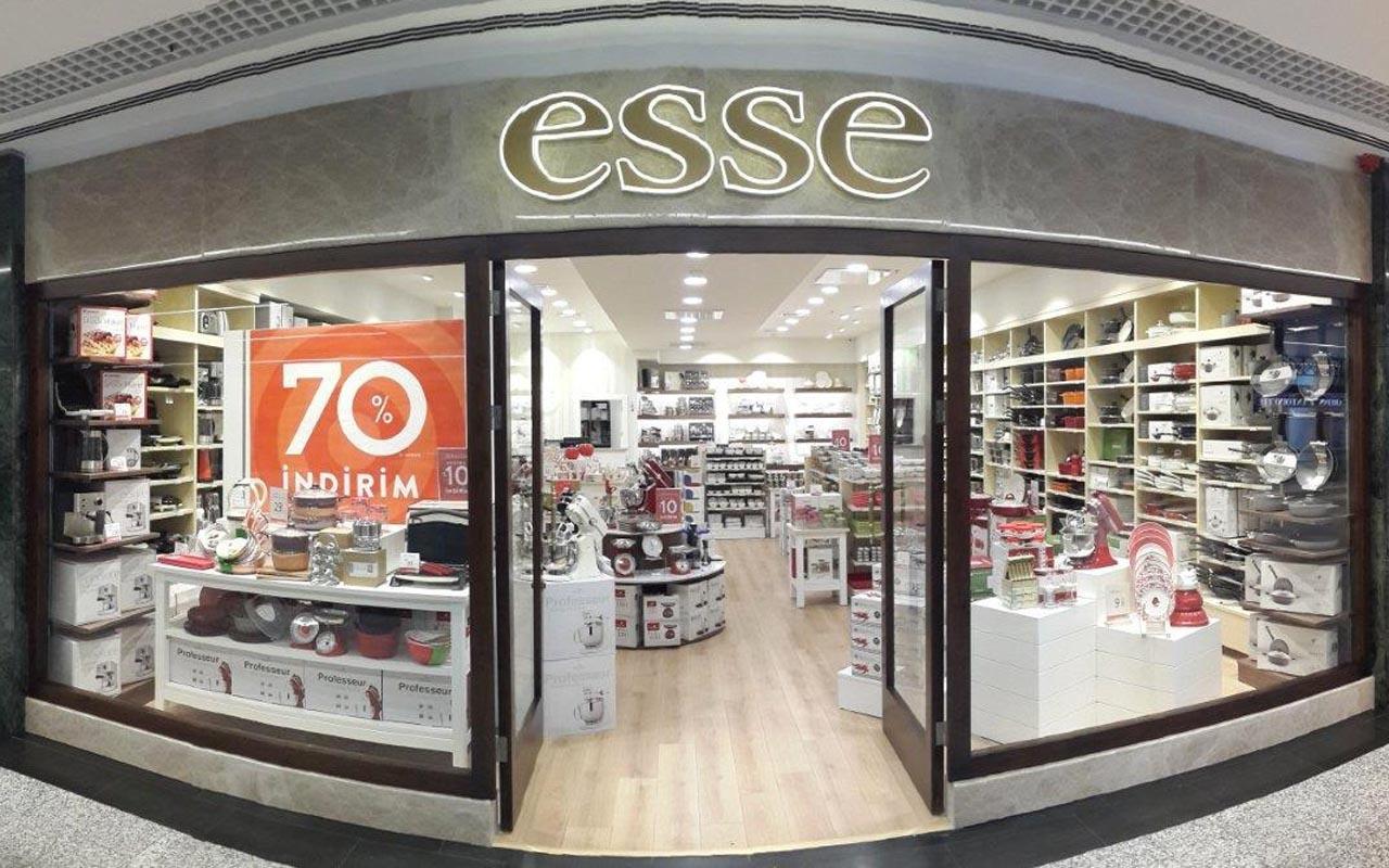 200 mağazası bulunun ünlü marka Esse iflas etti