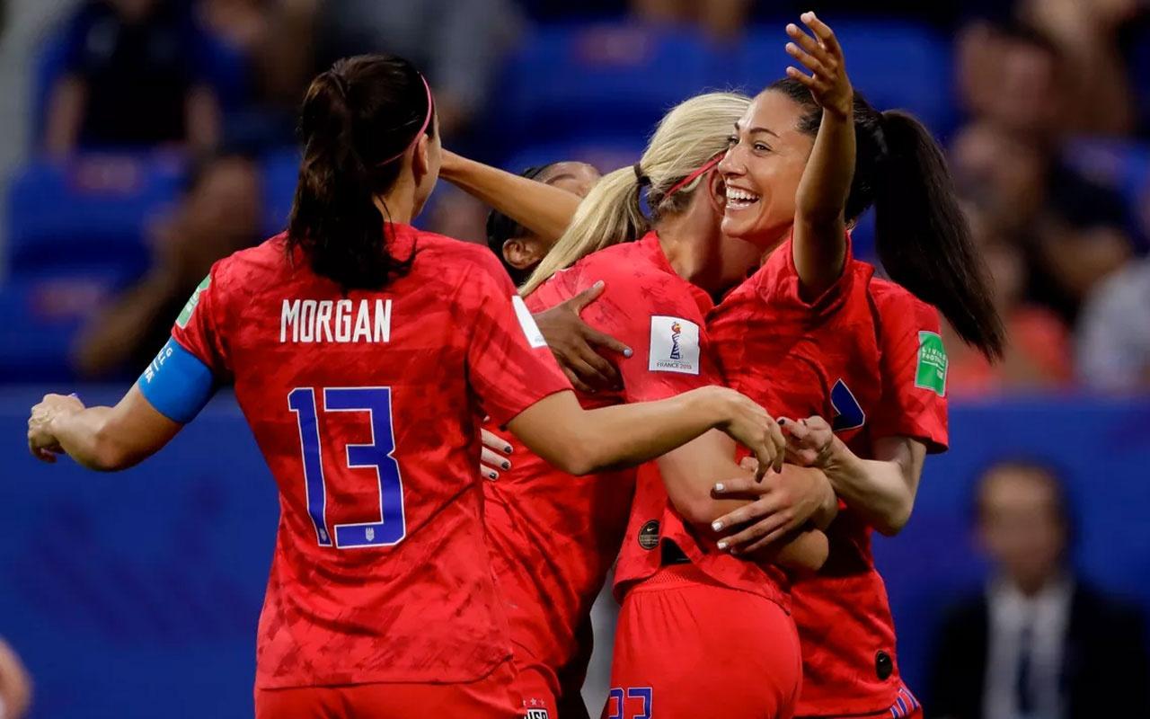 Kadınlar Dünya Kupası'nda ABD finalde