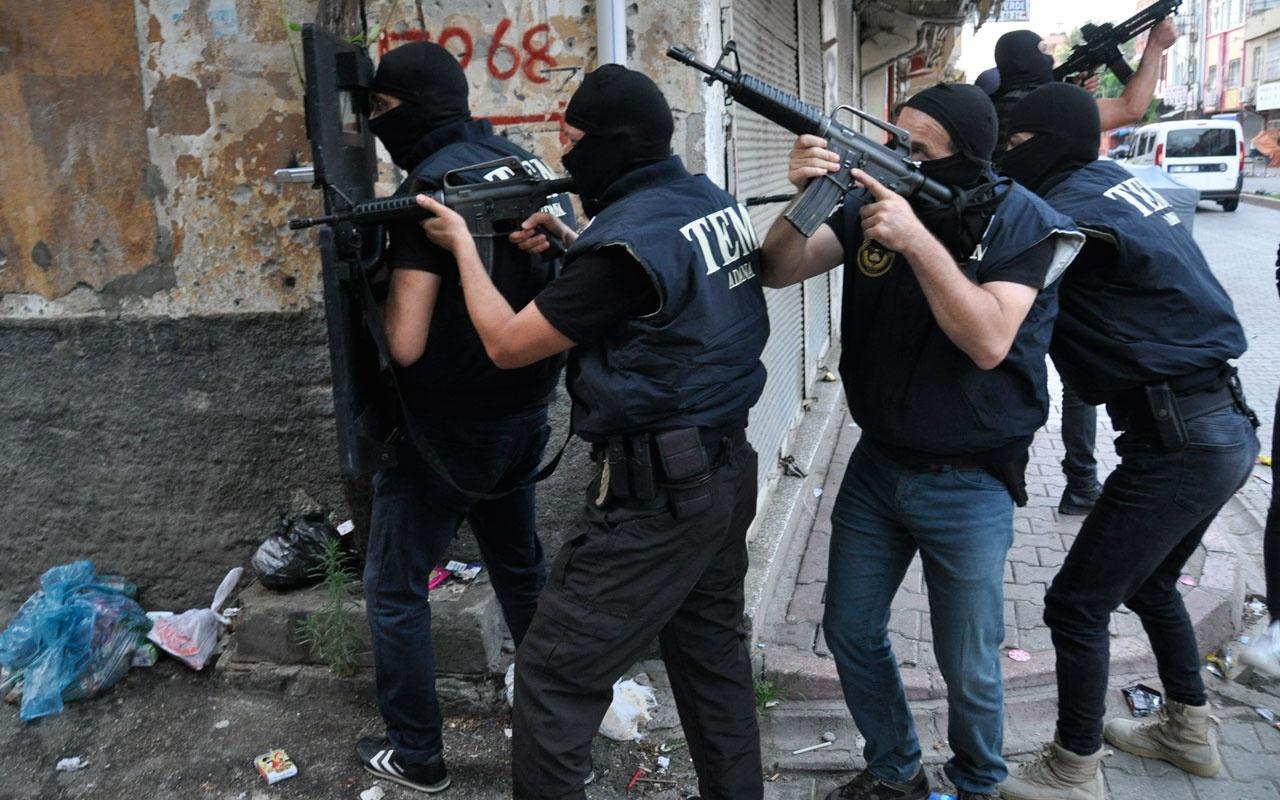 Adana'da DEAŞ operasyonu aralarında emir düzeyinde şüpheli de var