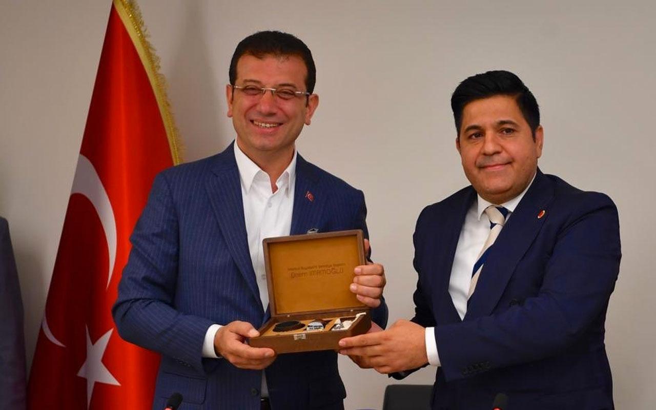 Ekrem İmamoğlu, Saadet Partisi'ni ziyaret etti