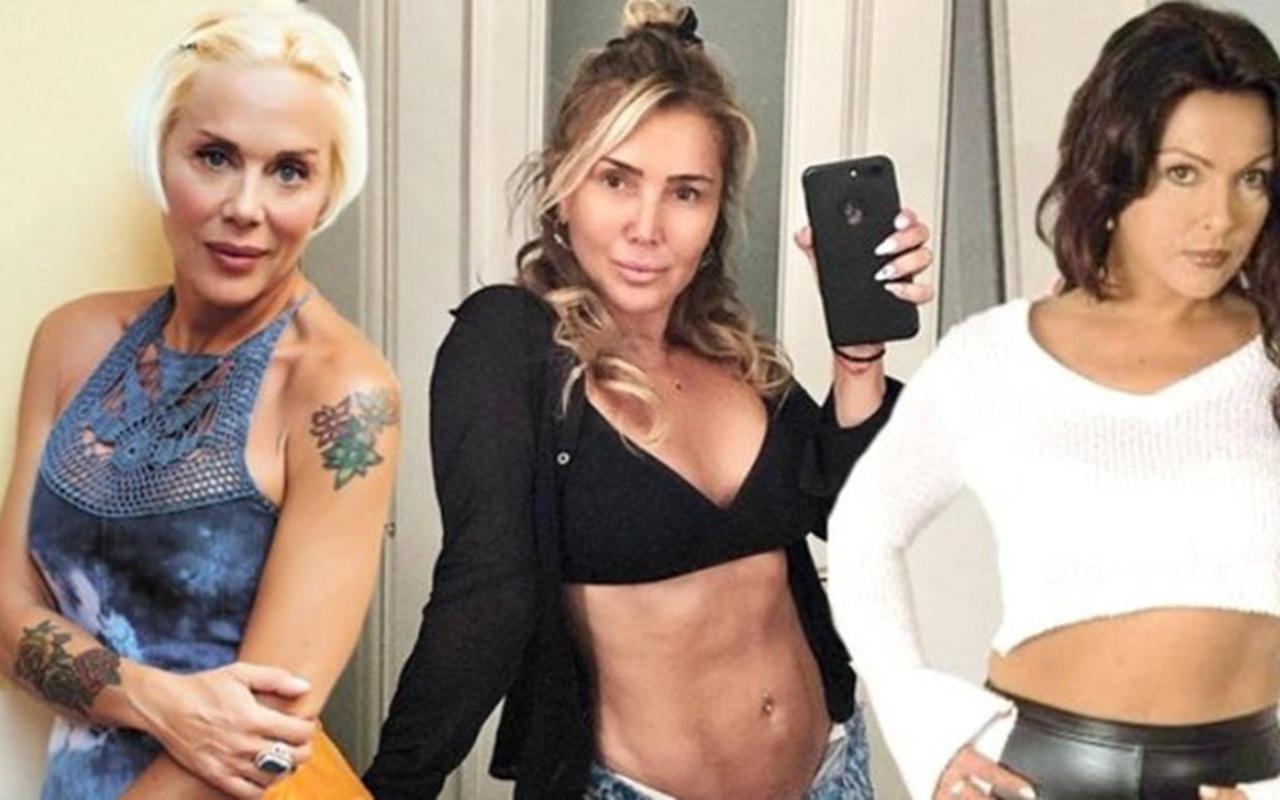 90'ların yıldız isimlerinden 'Genç kızlara taşçıkaran1 bikini şov